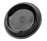 10- Bowling Ball Black Plastic Display Cups