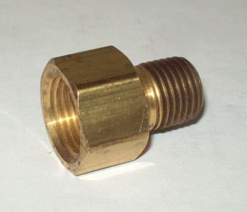 "Anderson Copper 3//8/"" Female x 1//4/"" Male NPT Pipe Adapter 06120-0604 Lot Of 25 Ea"
