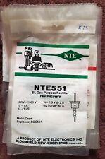 ECG525 FAST RECOVERY DAMPER DIODE 2KV 1Amp REPL NTE525