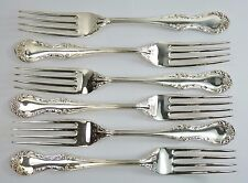 MAPPIN & WEBB Cutlery - RUSSELL Pattern - Dinner Forks - Set of 6