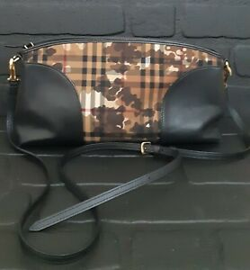 Burberry Horseferry Check Camouflage Print Small Chichester Clutch