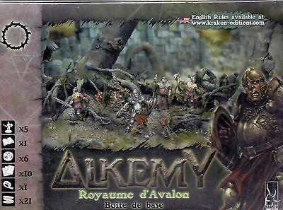 Kraken Edition Alkemy Royaume D'avalon Boite De Base Vf