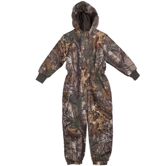 c08b04b6b9368 Browning Realtree Xtra Camo Owlet Snowsuit - Boys Toddler Camouflage Snow  Pants