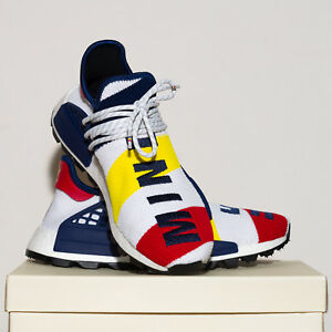 Details about adidas PHARRELL WILLIAMS BBC HU NMD TRAINERS Size 8 UK