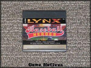 Baseball-Heroes-Atari-Lynx-Game-Only-FREE-SHIPPING