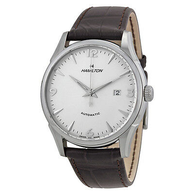 Hamilton Timeless Classic Silver Dial Leather Mens Watch H38715581