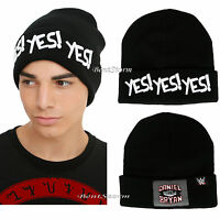 Wwe Daniel Bryan Yes Yes Yes Watchman Beanie Hat Ski Stocking Cap Licensed