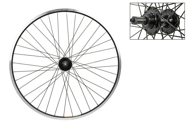 WM Wheel Rear 26x1.5 559x19 Aly Bk Msw 36 Aly Fw 5 6 7sp 6b Qr Bk 135mm 14gbk