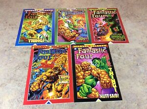 MARVEL-SELECTS-FANTASTIC-FOUR-1-2-3-5-6-LOT-OF-5-NM-COMIC-2000-MARVEL