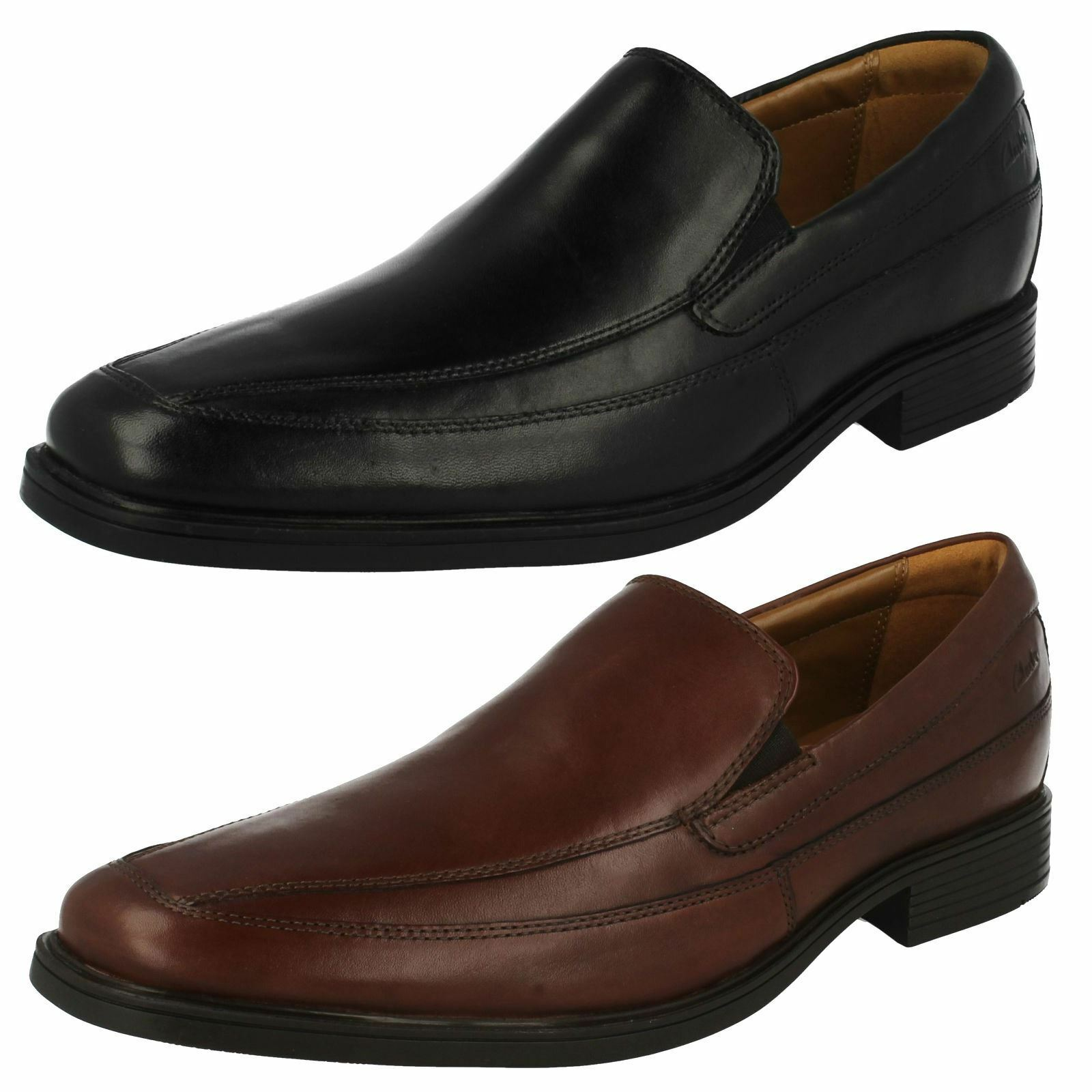 Mens Clarks Formal Slip On schuhe 'Tilden Free'