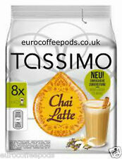 3 Packs Of Tassimo Chai Latte Pods Capsules 24 T-Discs 24 Servings