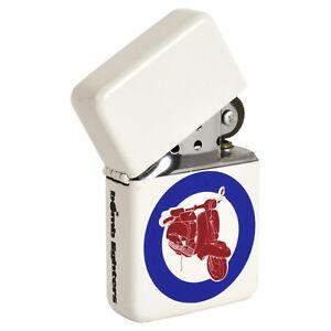 MOD-Scooter-Windproof-Lighter-Cool-Retro-Target-Logo-Vespa-Lambretta
