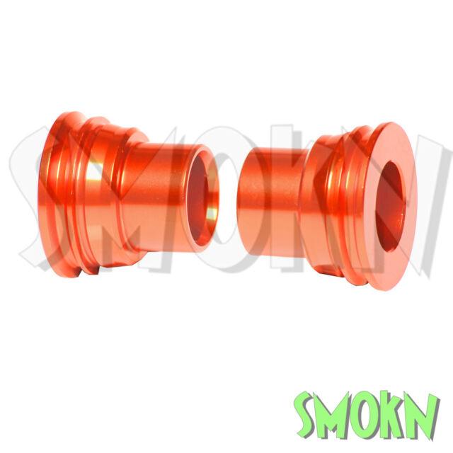 RFX Rear Wheel Spacers fits KTM 250 350 400 450 525 530 EXC-F 03-21 Orange