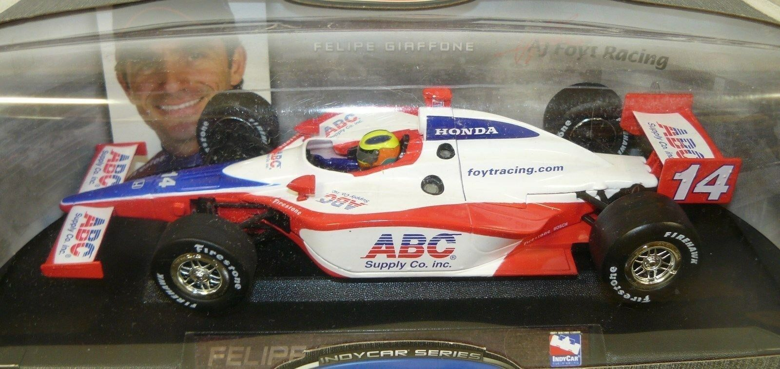 1 18  Felipe Graffone Indy Car, in the box, the box may or may not show
