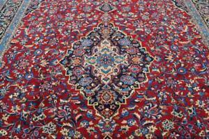 10-039-1-x-13-039-3-High-KPSI-Azerbaijani-Hand-Knotted-Wool-Area-Rug-Oriental-Carpet