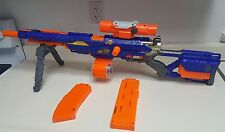 Nerf N-Strike CS-6 Longstrike Sniper Rifle Dart Gun Scope & Stand Discontinued!