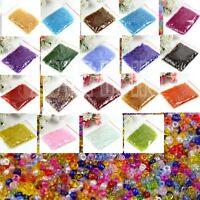 Rocailles 2000pcs 2mm rainbow irisierend schimmernd Perlen Glasperlen