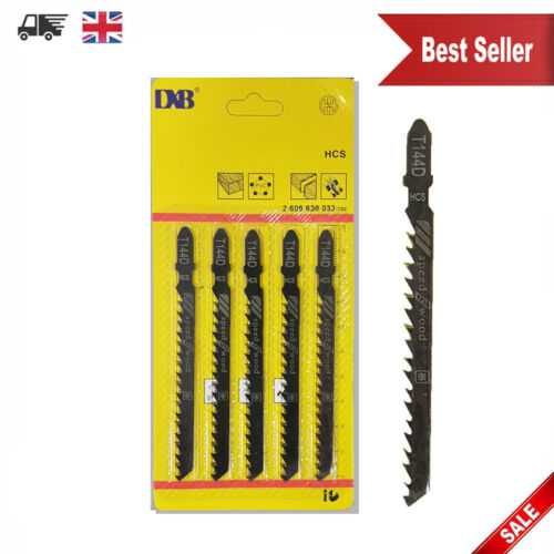 5 x T144D Fits Bosch Jigsaw blades down cut worktop wood cutting UK Seller NEW