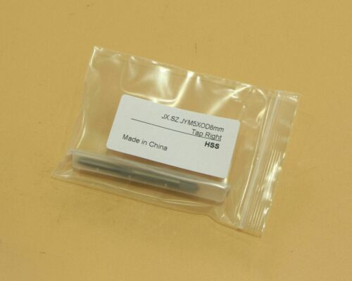 HSS 5mm x 0.8 Metric Tap Right Hand Thread M5 x 0.8mm Pitch Ship from USA