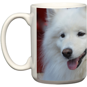 Image Is Loading Samoyed Coffee Mug Dog Owners Pet Accessories Christmas