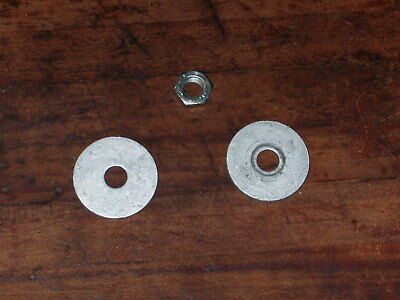 Nut OEM off of new blower. Stihl BG50 Fanwheel Washers and L.H