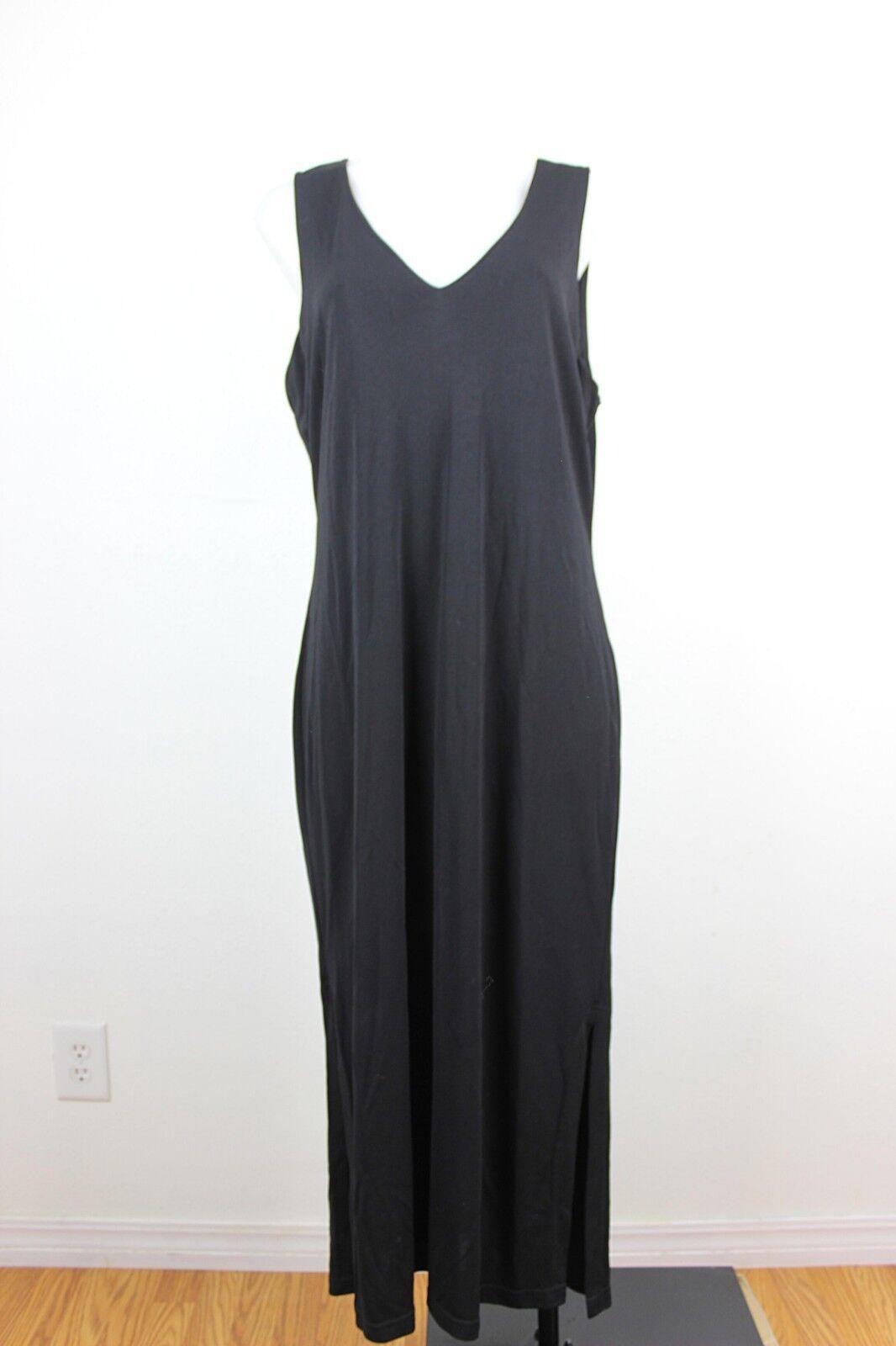 Hugo Buscati Collection Sleeveless Side Slits Midi Dress XL