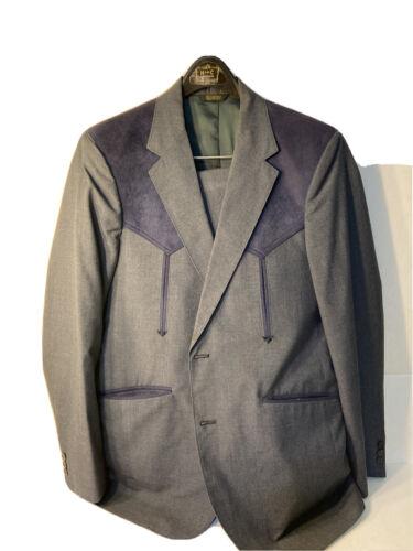 Vintage  Western  Apparel Mens Suit Size42R ( ClM)