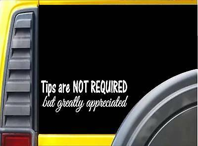 Seatbelts Please 8 inch K917 vinyl store taxi decal sticker