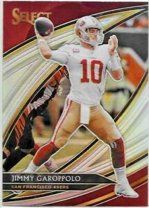 2019-Panini-Select-JIMMY-GAROPPOLO-Field-Level-SILVER-PRIZM-49ers-No-251