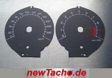 BMW R1200RT 2010-2013 Mph zu Kmh graue Tachoscheiben Tacho Gauge dial plates