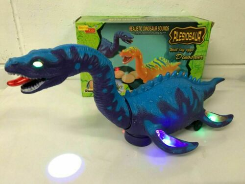 BUMP /& GO DINOSAUR JURASSIC WORLD REAL SOUND LIGHTS /& PROJECTION PURPLE BOXED UK