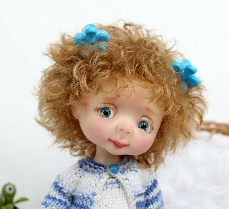 BJD recast muñeca Dollbom Genny 1 8 Doll With Secretdoll Unisex reborn kawaii