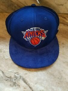 best loved 04ce4 961c7 Image is loading New-York-Knicks-Blue-59FIFTY-2017-NBA-Draft-