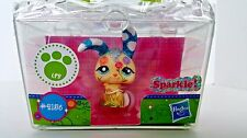 Littlest Pet Shop Shimmer N Shine 2156 Glitter Sparkle Bunny Rabbit LPS New 4+