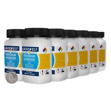 Potassium Hydroxide 3 Pounds 12 Bottles 99 Pure Food Grade Fine Flakes