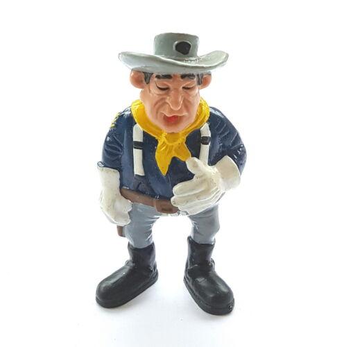 Figurine collection lucky luke schleich 1984 w germany sergeant o /'flanagan 8 cm