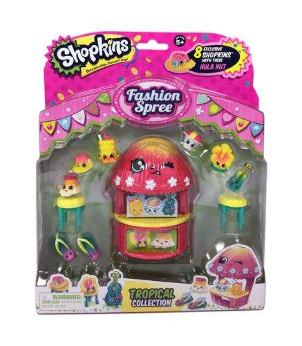 Shopkins Fashion Spree Tropical Collection Pack