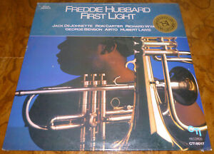 FREDDIE-HUBBARD-First-Light-LP-Album-FACTORY-SEALED-Benson-Carter-Laws-1981