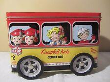 SCHOOL BUS Campbell Kids Tin Box Company  562707   (217)