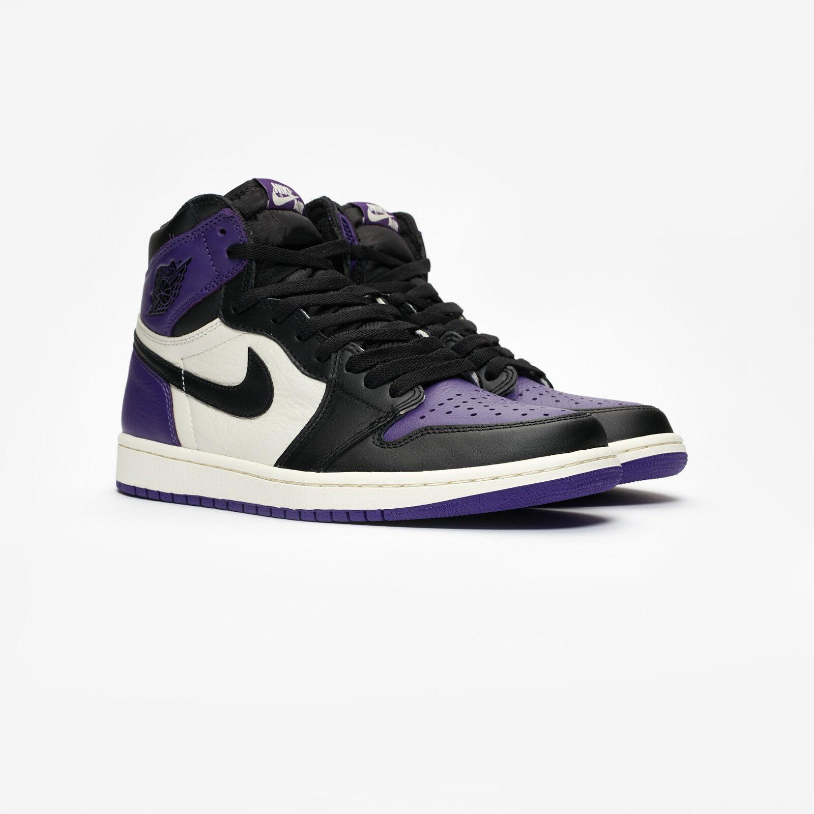 Nike Air Jordan Retro 1 OG High Court Purple 10.5 SB NRG