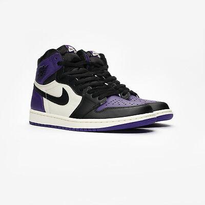 the latest b35d0 85b87 Nike Air Jordan Retro 1 OG High Court Purple 10.5 SB NRG 191888666539   eBay