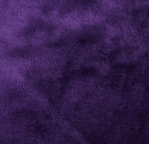 Fg26a Plain Purple Thick Faux Fur Material Cushion Cover//Pillow Case*Custom Size