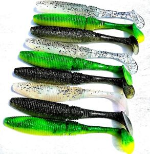 9-x-Noeby-Soft-Plastic-Lures-175mm-40g-Paddle-Tail-Snapper-Barra-Jewfish-Kings