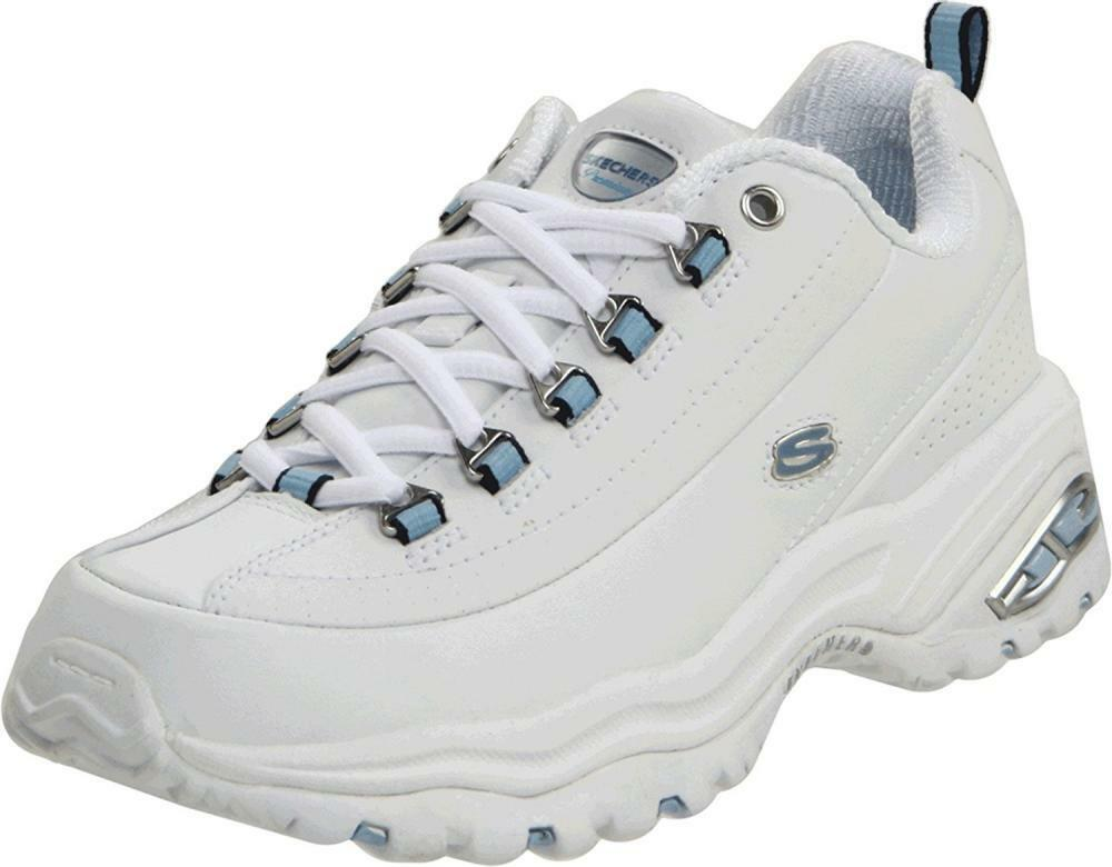 Skechers Sport Women's Premium Sneaker Joggers Walking Comfort Leather shoes