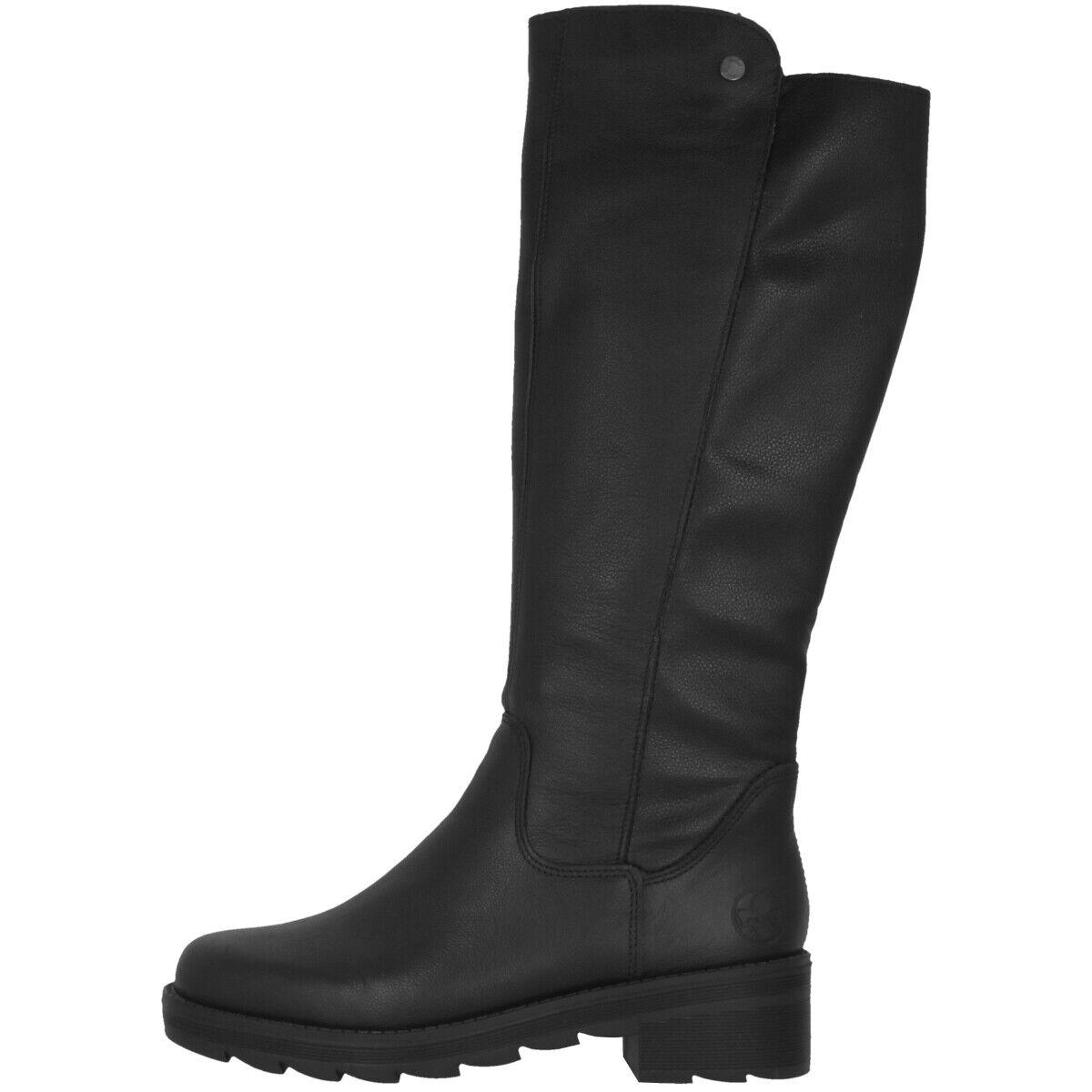 Rieker X0590-00 Schuhe Damen Antistress Stiefel Langschaftstiefel Winterstiefel