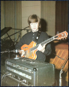 THE BEATLES POSTER PAGE 1966 JOHN LENNON IN THE RECORDING STUDIO  F10 - <span itemprop=availableAtOrFrom>UK, United Kingdom</span> - THE BEATLES POSTER PAGE 1966 JOHN LENNON IN THE RECORDING STUDIO  F10 - UK, United Kingdom