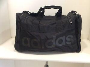 4a7ef18b9d Image is loading Adidas-Originals-Santiago-Duffel-Bag-Black-B161