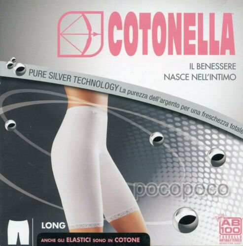 UNDERWEAR LONG LEG WOMAN COTTON COTONELLA ART 8018