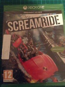 SCREAMRIDE-Theme-Park-Game-Microsoft-Xbox-ONE-12-BRAND-NEW-amp-Sealed