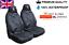 Peugeot 3008 Premium Protectores De cubiertas de asiento de coche 100/% A Prueba De Agua//Negro